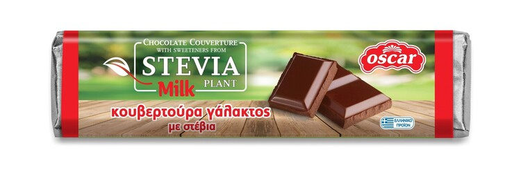 Milk Chocolate Couverture with Stevia