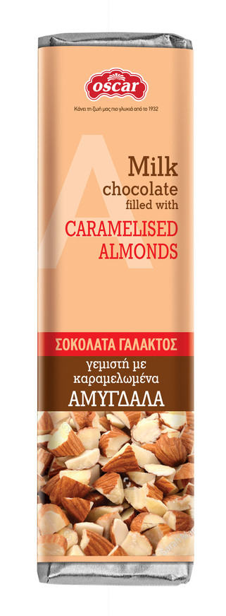 Milk Chocolate with Almonds